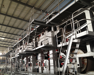 kraft and test liner paper machine