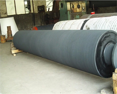 Grooved Press Roll Paper Machine